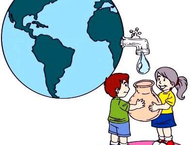 Dibujo Dia Mundial del agua